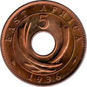 5 Cents - Edward VIII – reverse