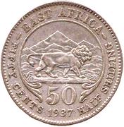 50 Cents - George VI – reverse