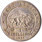 1 Shilling - George VI – reverse