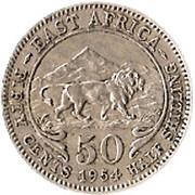 50 Cents - Elizabeth II -  reverse