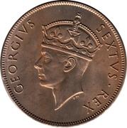 1 Shilling - George VI -  obverse
