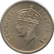 50 Cents - George VI – obverse