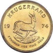 1 Krugerrand – reverse