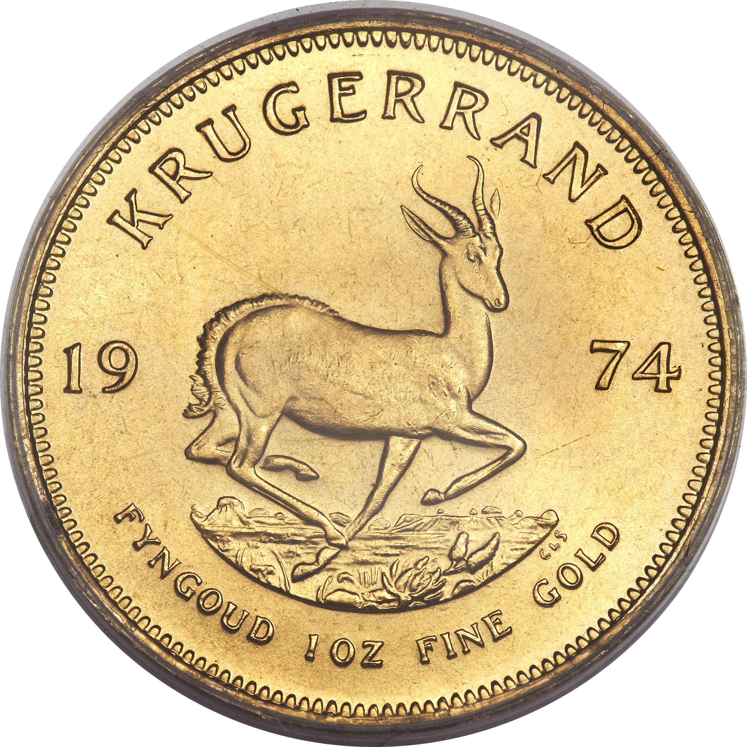 1 Ounce Krugerrand South Africa Numista