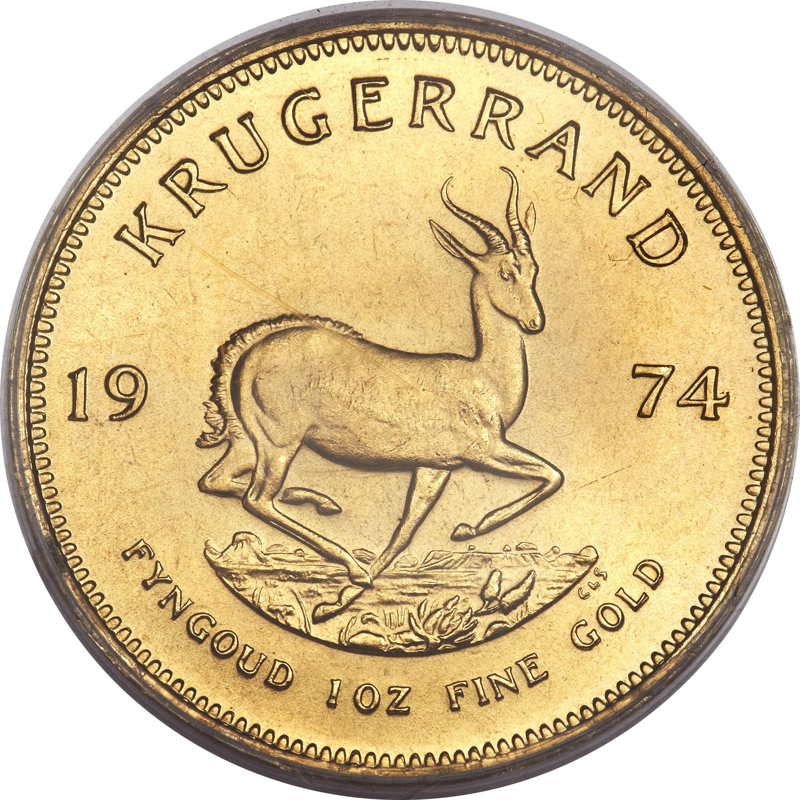 1 Ounce Krugerrand South Africa Numista