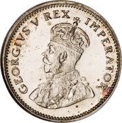 6 Pence - George V (ZUID-AFRIKA 6 PENCE) – obverse