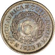 6 Pence - George V -  reverse