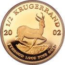 ½ Ounce Krugerrand – reverse