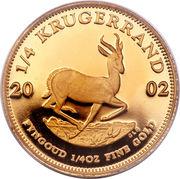 ¼ Ounce Krugerrand – reverse