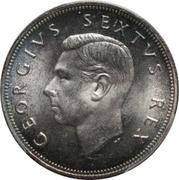 2½ Shillings - George VI (2½ Shillings, SEXTVS REX) – obverse