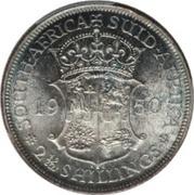 2½ Shillings - George VI (2½ Shillings, SEXTVS REX) – reverse
