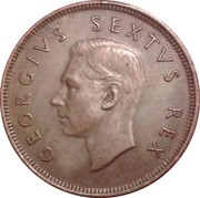 1 Penny - George VI (SOUTH AFRICA - SUID AFRIKA) – obverse