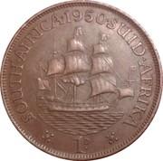 1 Penny - George VI (SOUTH AFRICA - SUID AFRIKA) – reverse