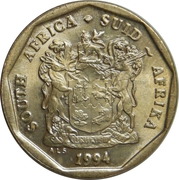 20 Cents (SOUTH AFRICA - SUID-AFRIKA) -  obverse