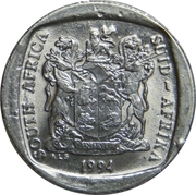 1 Rand (SOUTH AFRICA - SUID-AFRIKA) -  obverse