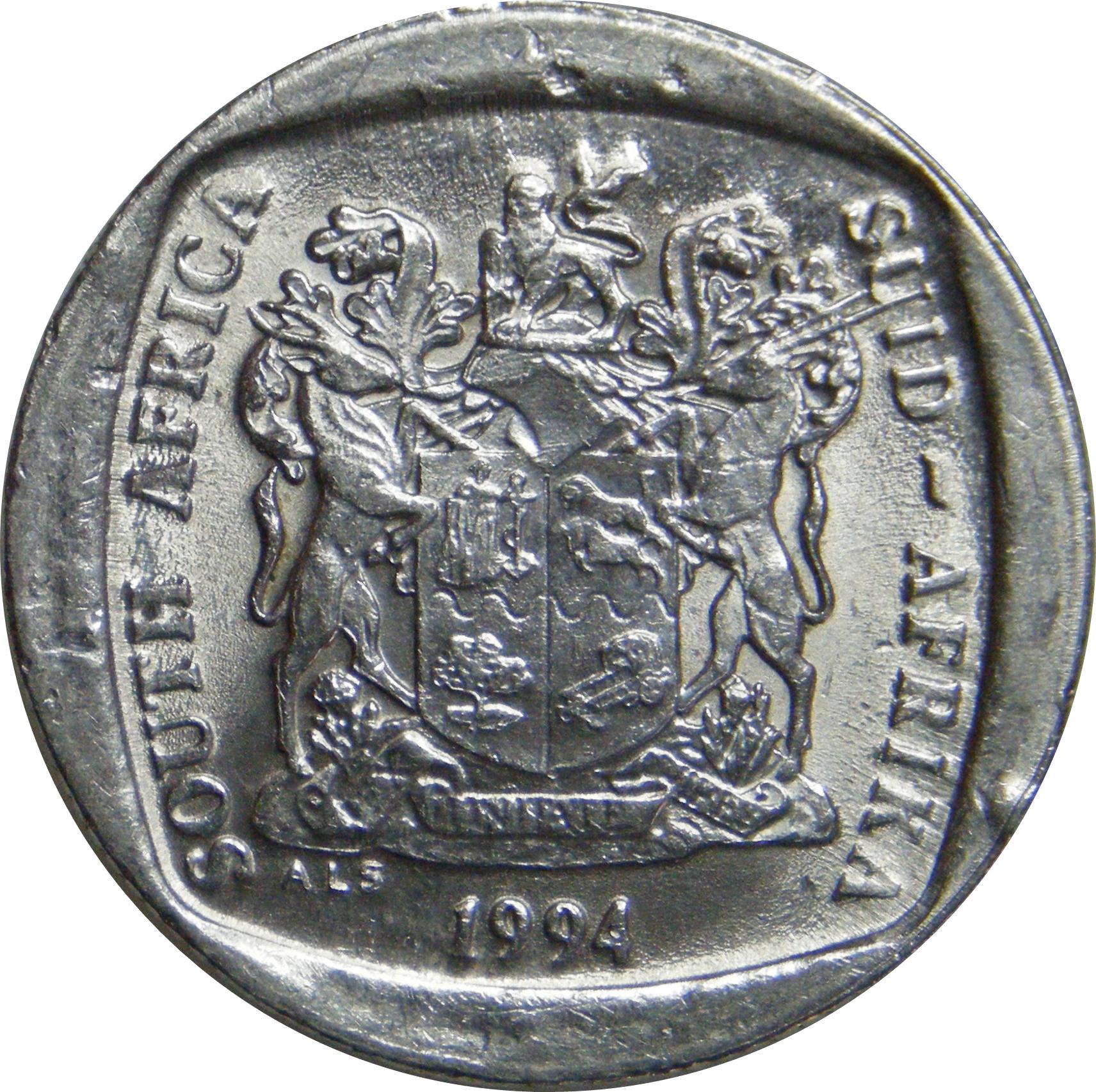 1 rand south africa suid afrika south africa numista