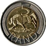 5 Rand (iNingizimu Afrika - uMzantsi Afrika) -  reverse