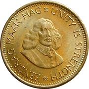 ½ Cent (1st decimal series) – obverse