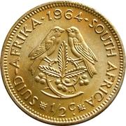 ½ Cent (1st decimal series) – reverse