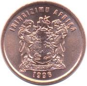 1 Cent (Zulu/Swazi Legend - ININGIZIMU AFRIKA) -  obverse