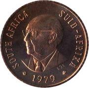 ½ Cent (Nicolaas Johannes Diederichs) – obverse