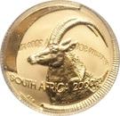 1/10 Ounce (Natura - Sable, Queen of the Antelopes) – obverse