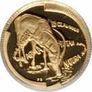 1/10 Ounce (Natura - Sable, Queen of the Antelopes) – reverse
