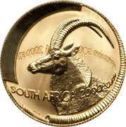½ Ounce - Natura Sable, Queen of the Antelopes – obverse
