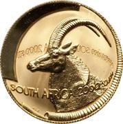 ½ Ounce (Natura - Sable, Queen of the Antelopes) – obverse