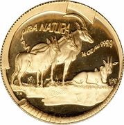 ½ Ounce - Natura Sable, Queen of the Antelopes – reverse
