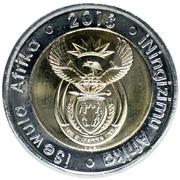 5 Rand (iSewula Afrika - iNingizimu Afrika) – obverse