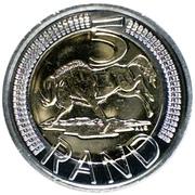 5 Rand (iSewula Afrika - iNingizimu Afrika) – reverse