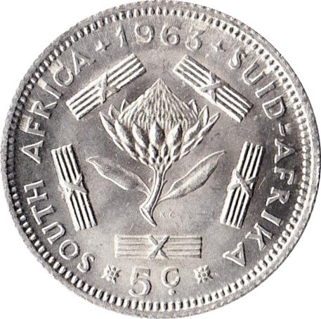 5 Cents 1st Decimal Series South Africa Numista