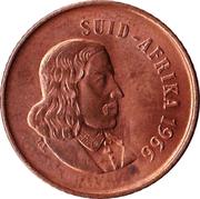 1 Cent  (Afrikaans Legend - SUID-AFRIKA) -  obverse