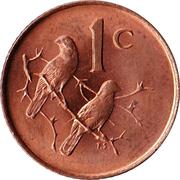 1 Cent  (Afrikaans Legend - SUID-AFRIKA) – reverse