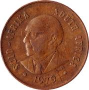 1 Cent (Nicolaas J. Diederichs) -  obverse