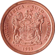 5 Cents (SOUTH AFRICA - SUID-AFRIKA) -  obverse
