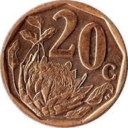 20 Cents (Venda Legend - Afurika Tshipembe) -  reverse