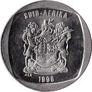 1 Rand (Afrikaans Legend - SUID-AFRIKA) -  obverse