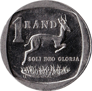 1 Rand (Afrikaans Legend - SUID-AFRIKA) -  reverse