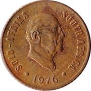 1 Cent (Jacobus Johannes Fouché) -  obverse