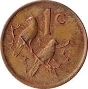 1 Cent (Jacobus Johannes Fouché) -  reverse