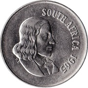 10 Cents (English Legend - SOUTH AFRICA) -  obverse