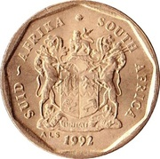 10 Cents (SUID-AFRIKA - SOUTH AFRICA) -  obverse