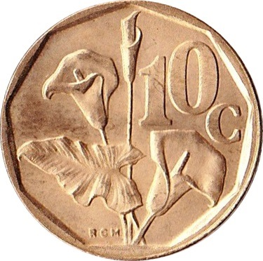 10 Cents (SUID-AFRIKA - SOUTH AFRICA) - South Africa – Numista