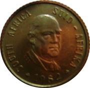 ½ Cent (Balthazar J. Vorster) – obverse
