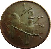 ½ Cent (Balthazar J. Vorster) – reverse