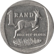 1 Rand (uMzantsi Afrika - Suid-Afrika) -  reverse