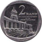 2 Rand (Union Buildings) – reverse
