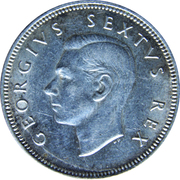 2 Shillings - George VI (2 Shillings, SEXTVS REX) – obverse